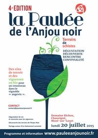 20 juillet 2015 : Paulée de l'Anjou noir