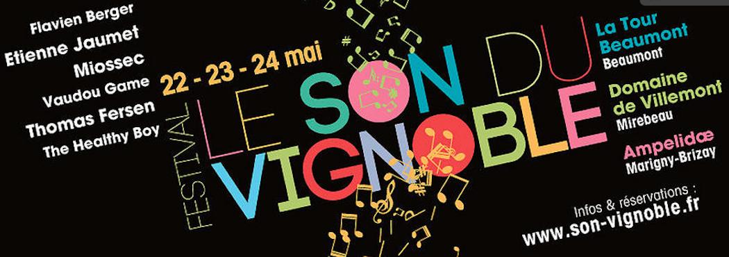 22-23-24 Mai, c'est le Son du Vignoble