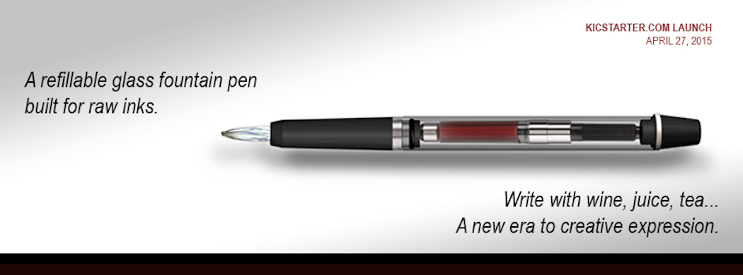 Winkpen, le crayon qui écrit avec du vin