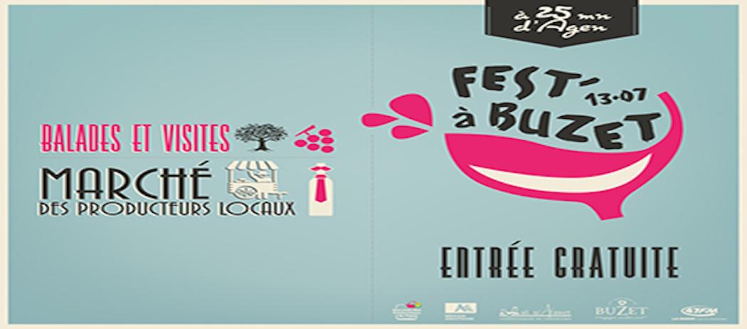 Fest'a Buzet le 13 Juillet 2015