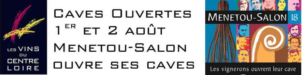 Les 1er et 2 Août, c'est caves ouvertes à Ménétou-Salon