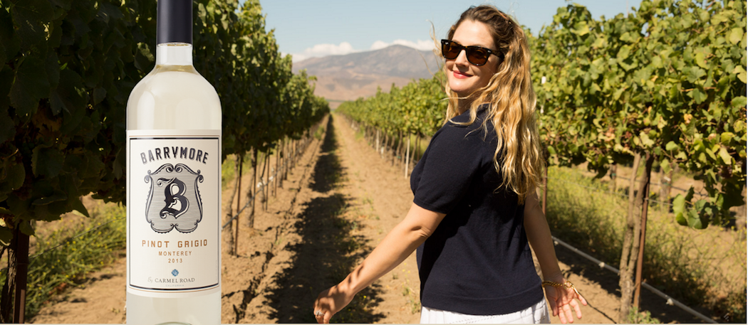 Le vignoble de Drew Barrymore