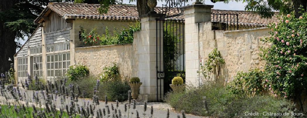 Le château de Sours, un château 18 ème siècle