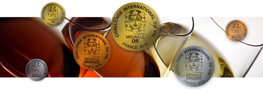 Les prix décernés par le Challenge International du Vin