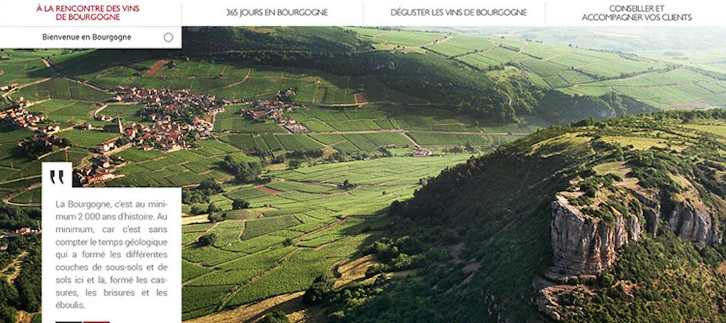Les vins de Bourgogne enseignent en ligne
