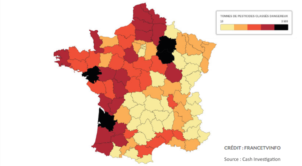 Les pesticides en France
