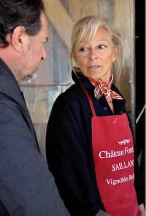 dany Rolland en vendanges à Fontenil