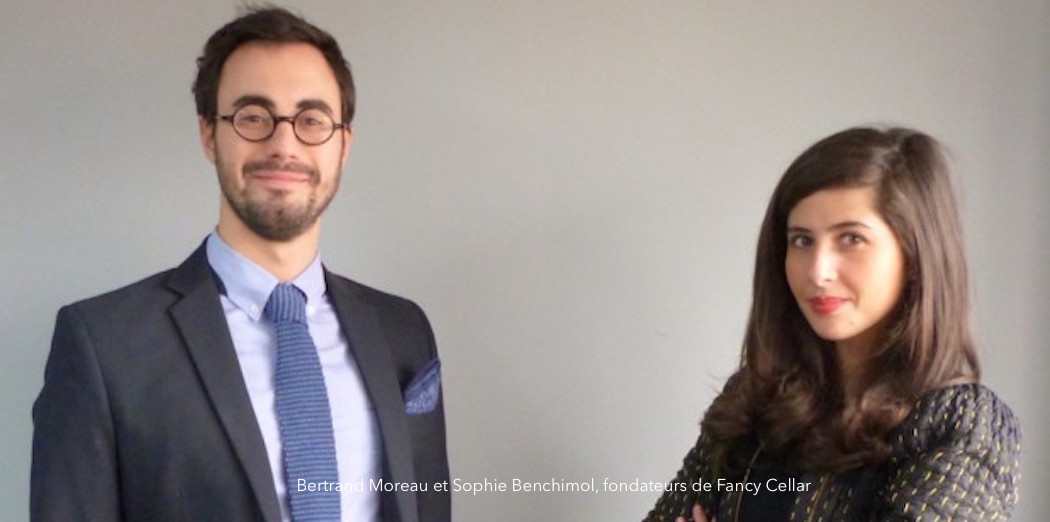 Bertrand Moreau et Sophie Benchimol de Fancy Cellar