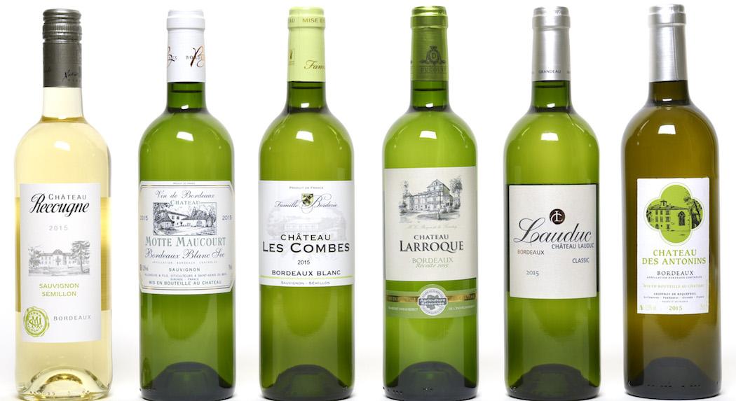 Les Bordeaux blancs de l'été oscarisés
