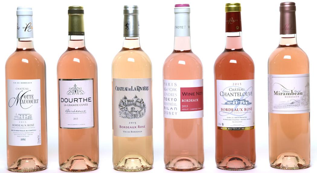 les Bordeaux rosés de l'été oscarisés