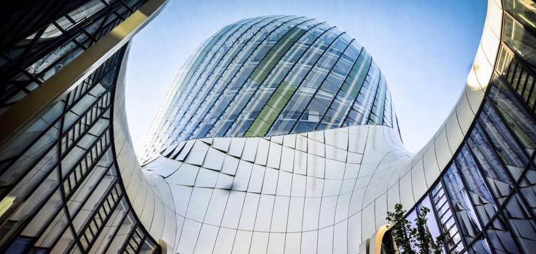 L'architecture épurée de la Cité du Vin