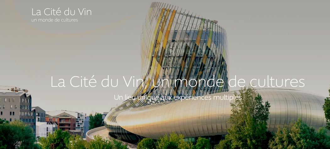 La Cité du Vin à Bordeaux