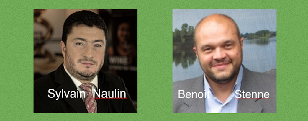 Benoit Stenne et Sylvain Naulin