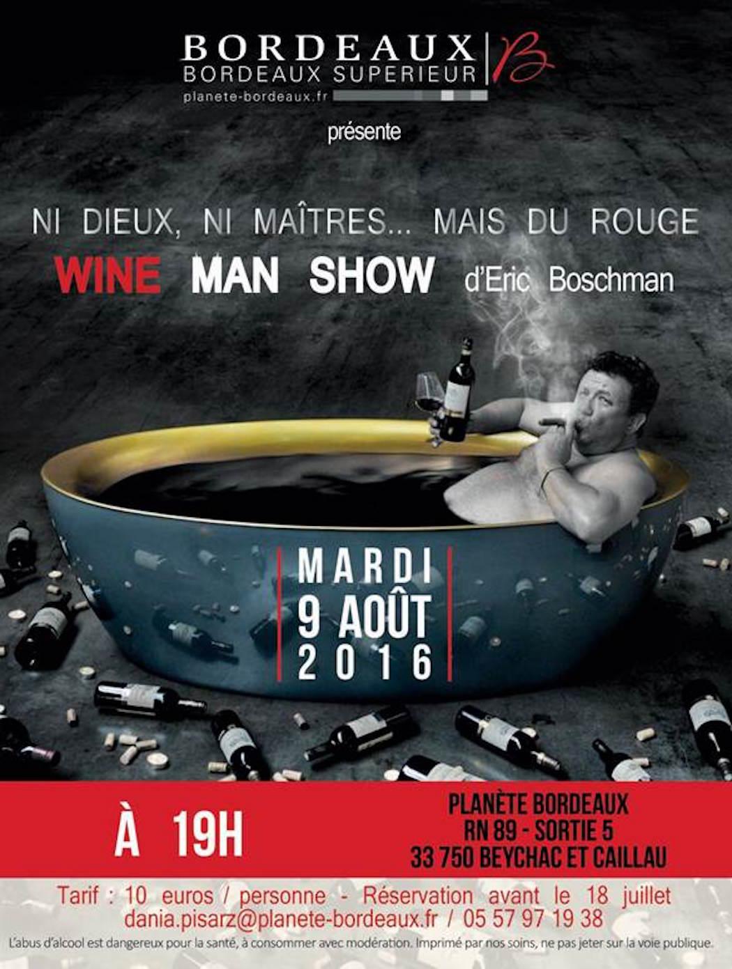 Wine man Show