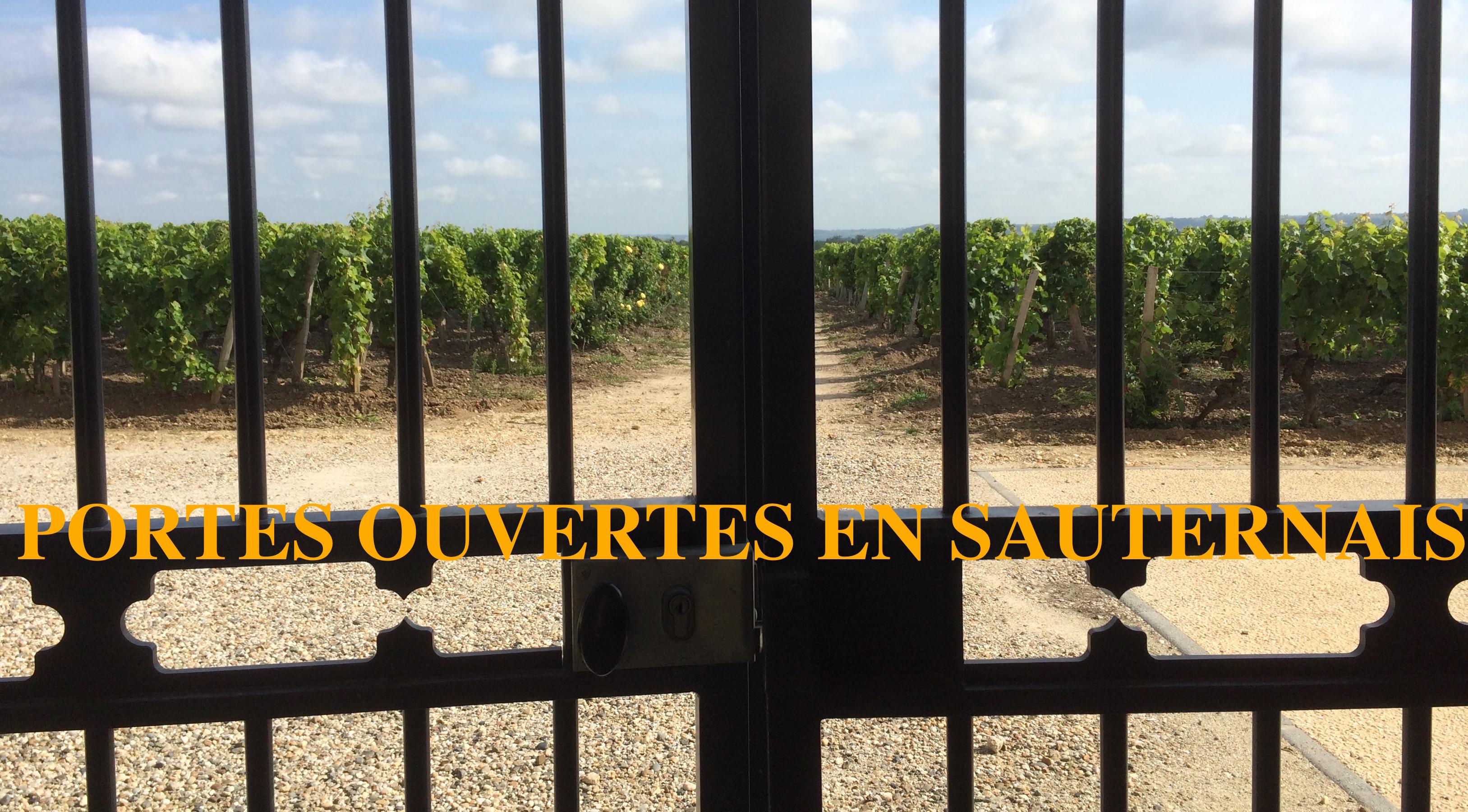 Sauternes et Barsac ouvrent leurs portes