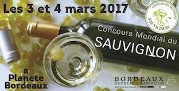 Concours mondial du Sauvignon à Bordeaux