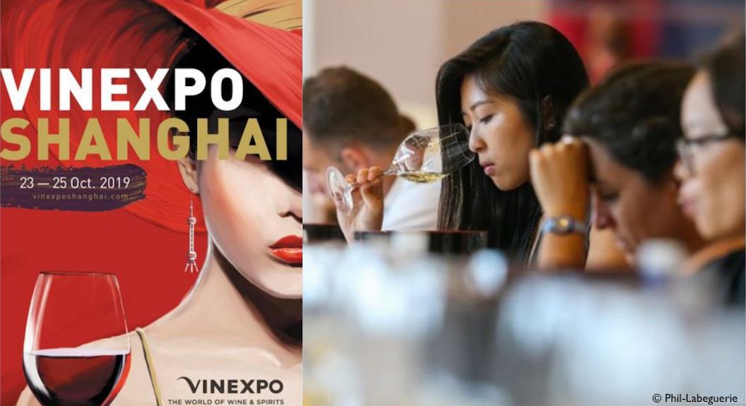 Vinexpo s'installe à Shangai