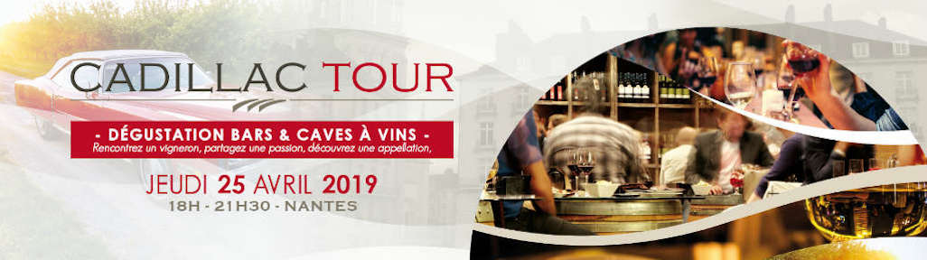 Le Cadillac Tour est à Nantes