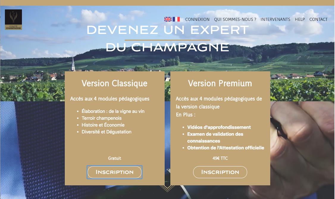 Mooc Champagne : Une formation sur le Champagne en ligne