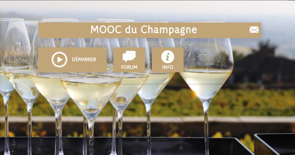 Mooc Champagne pour en apprendre plus le Champagne